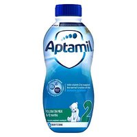 Aptamil 2 Follow On Milk - Ready to Feed from 6 Months 1 Litre