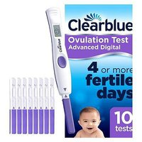 Clearblue Digital Ovulation Test with Dual Hormone Indicator 10s