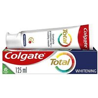 Colgate Total Advanced Whitening Antibacterial & Fluoride Toothpaste 125ml