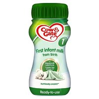 Cow & Gate 1 First Infant Milk from Newborn 200ml