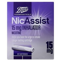 Boots NicAssist Inhalator 15mg 20s