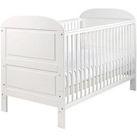 East Coast Angelina Cot Bed - White Finish