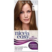 Clairol Nice n Easy No-Ammonia Shade 91 Dark Blonde Hair Dye