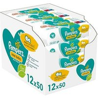 Pampers New Baby Sensitive Baby Wipes 12 Packs = 600 Wipes