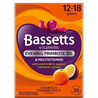 Bassetts Multivitamins Orange & Passionfruit Flavour Soft & Chewies 12-18 Years - 30