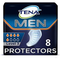 TENA Men Level 3 Incontinence Absorbent Protector - 8 pack