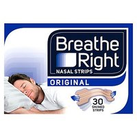 Breathe Right Congestion Relief Nasal Strips Original Small/Medium 30s