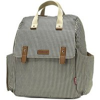 Babymel Robyn Changing Bag - Navy Stripe