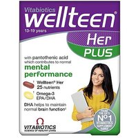 Vitabiotics Wellteen Her Plus - 56 Pack