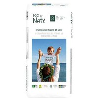 Naty Size 3, 50 Eco Nappies, 4-9kg