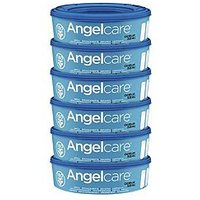 Angelcare Nappy Disposal System Refill Cassettes 6 Pack
