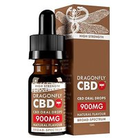 Dragonfly Broad-Spectrum CBD Cannabidiol Oil 900mg 10% - 10ml