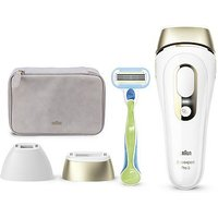 Braun Silk-expert Pro 5 PL5124 Latest Generation IPL Permanent Visible Hair Removal (White and Gold)