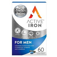 Active Iron & B Complex Plus For Men - 60s