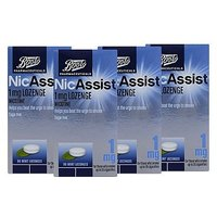 Boots NicAssist Mint 1mg Lozenges 4 x 96 Bundle