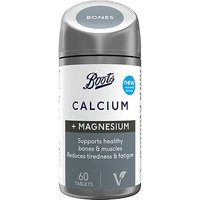 Boots Calcium + Magnesium 60 Tablets (1 month supply)