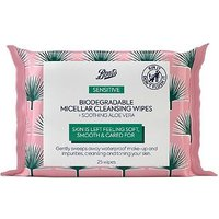 Boots Biodegradable Micellar Cleansing Wipes 25s