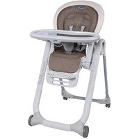 Chicco Polly Progres5 4 Wheels Highchair - Pois