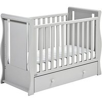 East Coast Nebraska Sleigh Cot2Bed - Grey