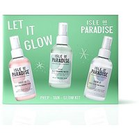 Isle of Paradise Let It Glow Prep-Tan-Glow Kit