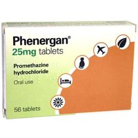 Phenergan Tablets 25mg (56 Tablets)