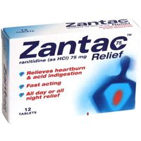 Zantac 75 Relief Tablets (12)