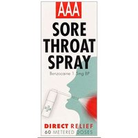 AAA Mouth and Throat Spray 60 metered doses