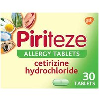 Piriteze Allergy Tablets (30)