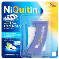 Niquitin Minis (20) Low Strength 1.5mg