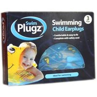 Swim Plugz Swimming Child Earplugs 3 PAIRS