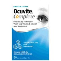 Bausch & Lomb Ocuvite Complete Soft Gels 60
