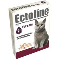 Ectoline For Cats 50mg spot-on solution: 2 pipettes