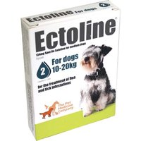 Ectoline For Dogs spot-on solution 134mg: 2 pipettes