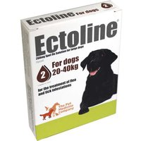 Ectoline For Dogs spot-on solution 268mg: 2 pipettes