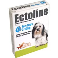 Ectoline For Dogs spot-on solution 67mg: 2 pipettes