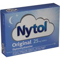Nytol Original 25mg Tablets 20