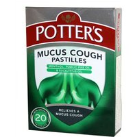 Potters Mucus Cough Pastilles (20)