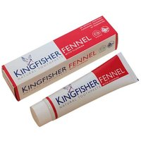 Kingfisher Fennel Natural Toothpaste With Fluoride 100ml