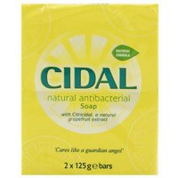 Cidal Soap Twin Pack 2 x 125g