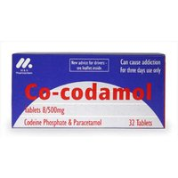 Co-codamol 8/500mg Tablets 32