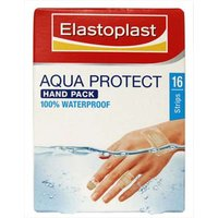 Elastoplast Aqua Protect Hand Pack Waterproof Plasters Various Sizes 16