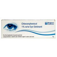 Chloramphenicol 1% Eye Ointment