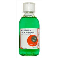 Benzydamine Mouthwash Sugar Free 300ml