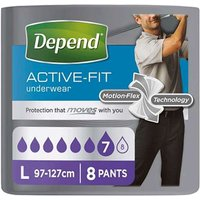 Depend Real Fit Underwear For Men Large 8