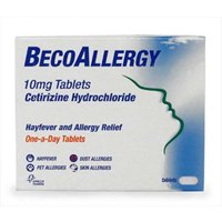 BecoAllergy Hayfever and Allergy Relief 10mg Tablets 14