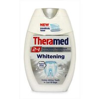 Theramed 2 in 1 Toothpaste and Mouthwash Whitening 75ml