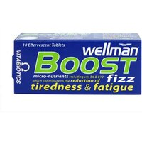 Wellman Boost Effervescent Apple Pear Tablets - 10