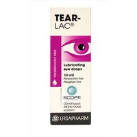 Tear-Lac Lubricating Eye Drops 10ml