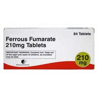 Ferrous Fumerate 210mg Tablets 84