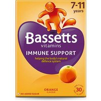 Bassetts Immune Support 7-11 Years Orange 30 Chewies